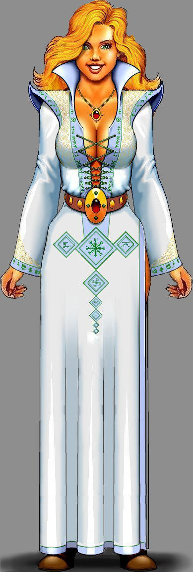 Robe of Archmage Outfit by mjarrett1000