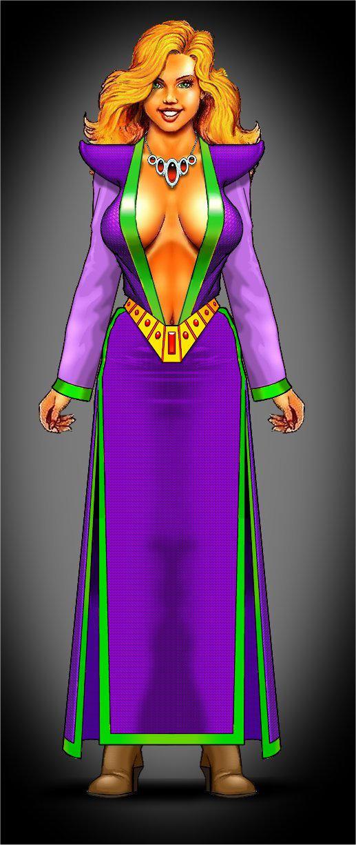 Kyzanthia Adventuring Dress by mjarrett1000