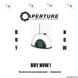 Portal: Aperture Science's Radio by Daritha