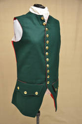 1776 Hessian Jaegar uniform waistcoat by magic-needle