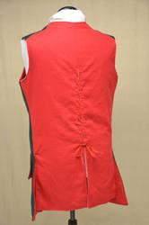 1776 Hessian Jaegar uniform waistcoat - back view by magic-needle
