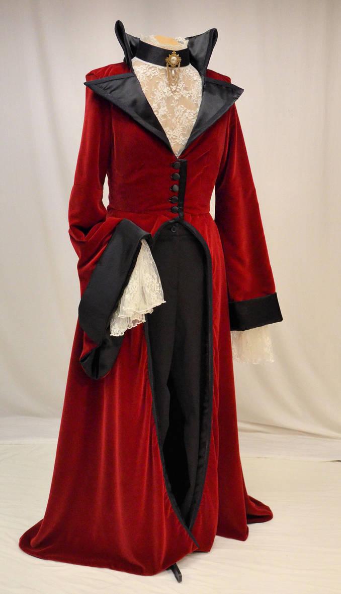 Evil Queen riding coat by magic-needle