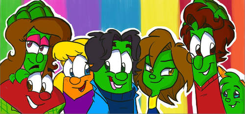 Veggie Teens by danigirl1718
