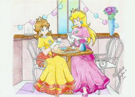 .:Tea Time:. by PrincessPeachFanLove