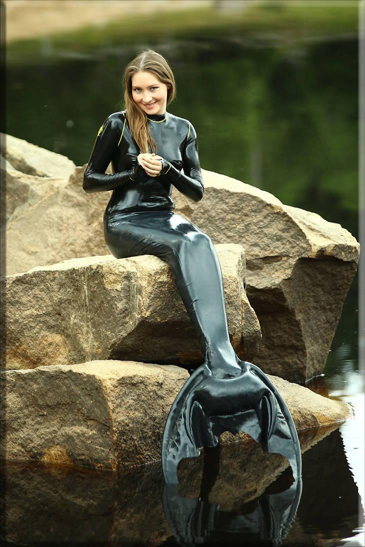 Mermaid by catsuitmodel