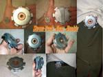 SteamPunk Gear Buckle by Dinodude73