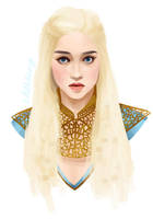 Khaleesi by gitchoo