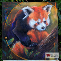 Red Panda Quiescent Cass Womack by charfade