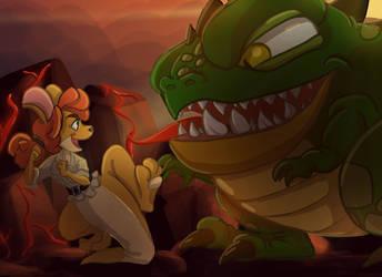 Sheila and Buzz by JVElizabeth