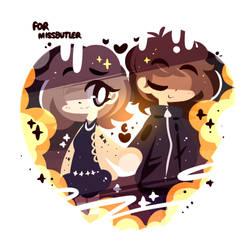 Valentine's Day Gift for Missbutler! by MACKINN7