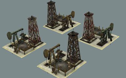 OilDerrick for Generals Evolution mod by sgor00