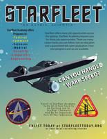 Starfleet Recruitment Ad by lexi-presents