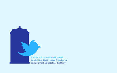 Doctor Who Twitter Wall by lieutenantsubtext
