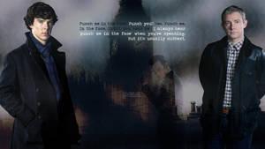 Sherlock Subtext Wallpaper by lieutenantsubtext