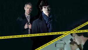 CSI Baker Street - Sherlock Wallpaper by lieutenantsubtext