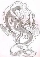 Dragons by Alluno