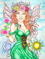 Aine - Faerie Queen of the Solstice by IAmABananaOo
