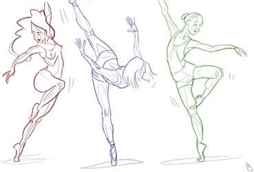 Ballet gesture by OddKamaboko