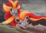 #668 Pyroar by Trish-the-Stalker