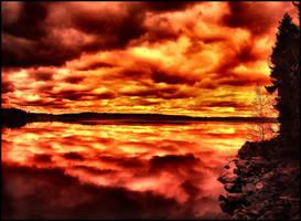 red thing II by KariLiimatainen