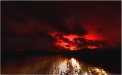 fire in the sky by KariLiimatainen