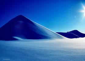 desert snow by KariLiimatainen