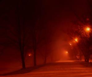 this misty way .. by KariLiimatainen