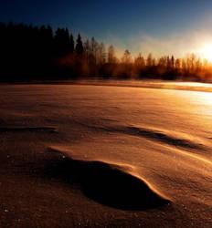 mysterious winter  . ... by KariLiimatainen