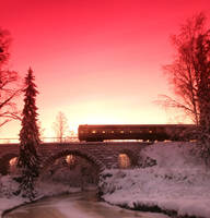 train went just by KariLiimatainen