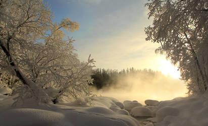 Winter mood by KariLiimatainen