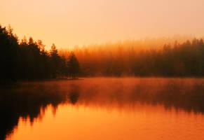 autumn peace by KariLiimatainen