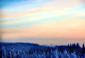 winter morning by KariLiimatainen