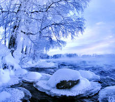 Winter in Finland. by KariLiimatainen