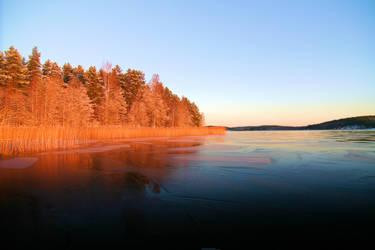Early winter by KariLiimatainen