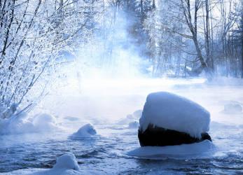 Winter . by KariLiimatainen