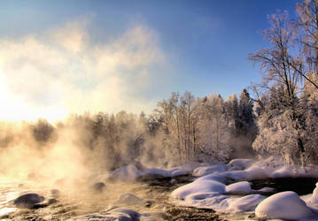 Cold winter day .. by KariLiimatainen