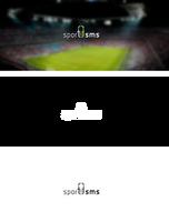 Sport SMS logotype by eminet