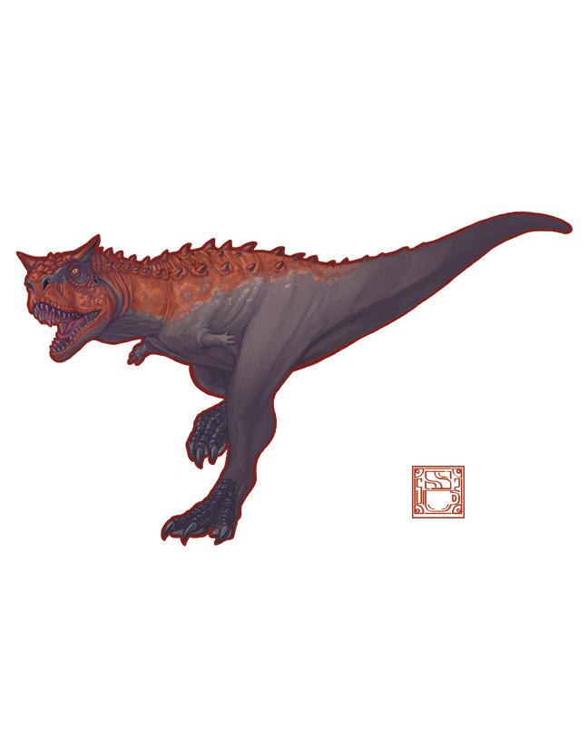 Carnotaurus sastrei by 0CoffeeBlack0