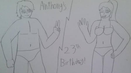 Anthony's 23rd Birthday by mature915