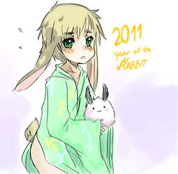 year of the rabbit you say? by HGNDS