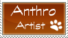 Anthro Artist Stamp by Anuiu-Stamps