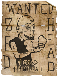 Wanted by Burgzaza