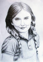 Madeline Carroll Portrait by DraWondeRit