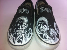 The Walking Dead Shoes by TattooJamie