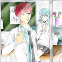Kuroko no Basuke - Teikou Days by Hana--bee
