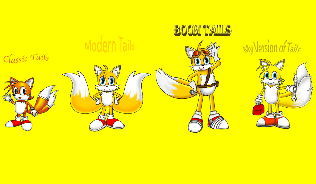 Drawcember Day 6 - The Four Faces of Tails by dwaters220