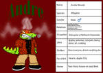 Andre's Profile - Final Design by dwaters220