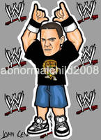 john cena color .2 by abnormalchild