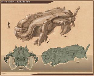 Gunship - Bumble-Bee AC-42 by Hideyoshi