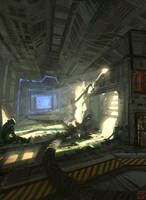 Abandoned Spacestation by Hideyoshi